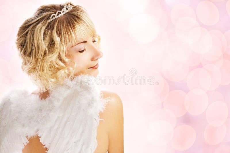 Bello angelo immagini stock