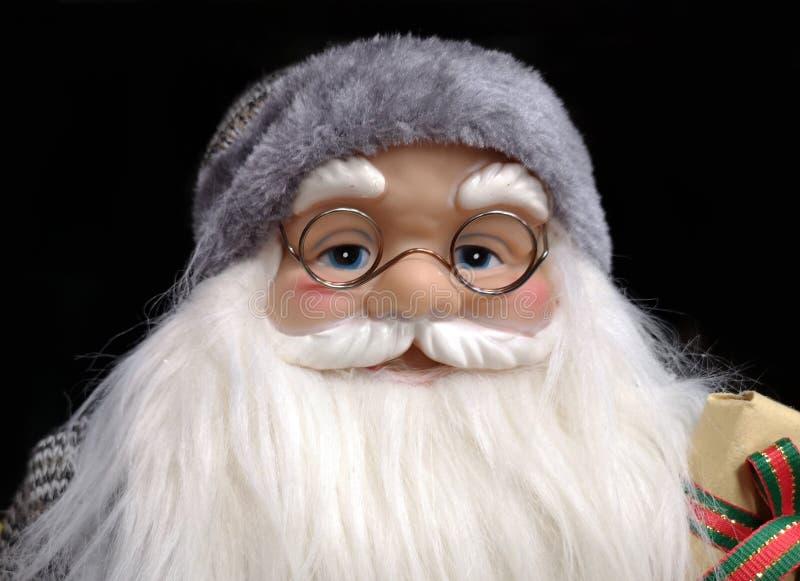 Bello Babbo Natale come giocattolo immagini stock libere da diritti