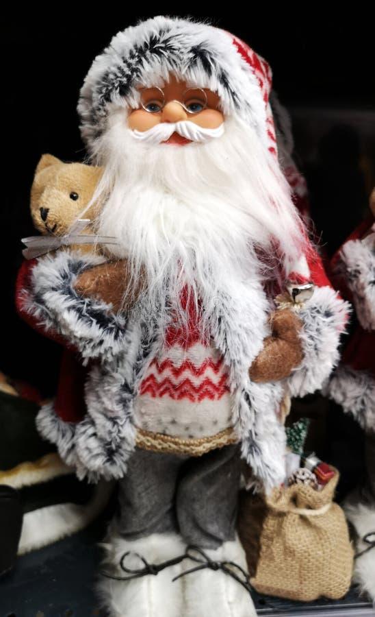 Bello Babbo Natale come giocattolo fotografia stock libera da diritti