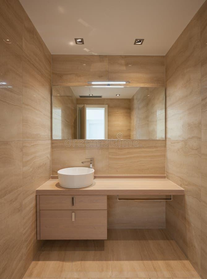 Bello bagno di marmo fotografia stock
