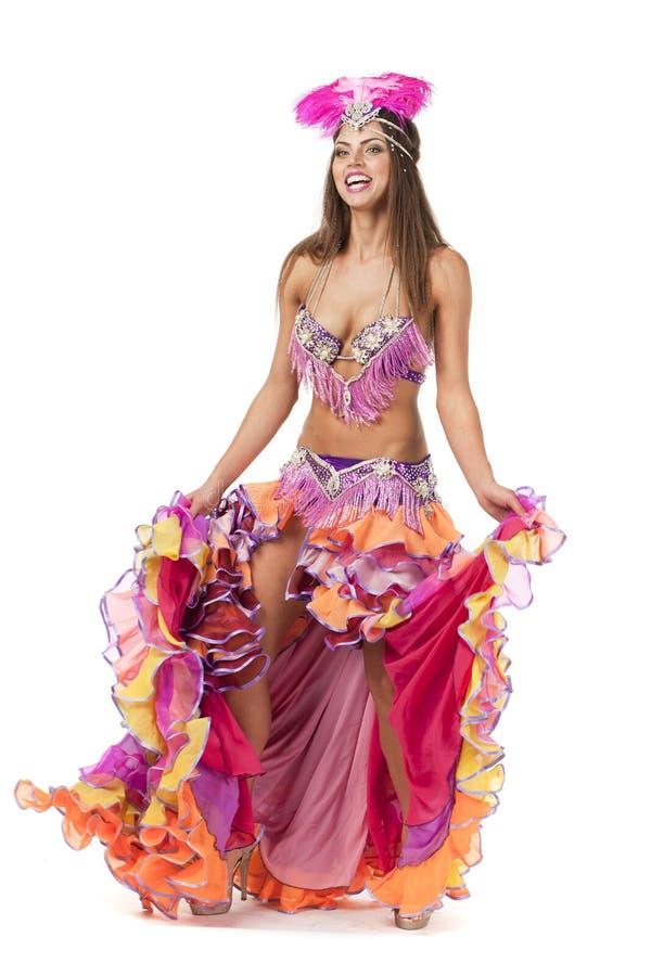 Dancing Spagnolo Tradizionale Del Ballerino Di Flamenco ...
