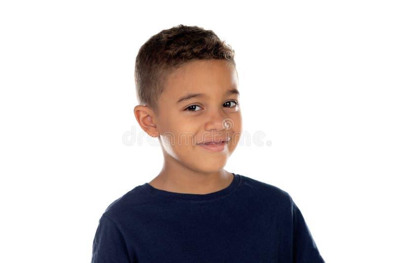 Bello bambino latino fotografia stock libera da diritti
