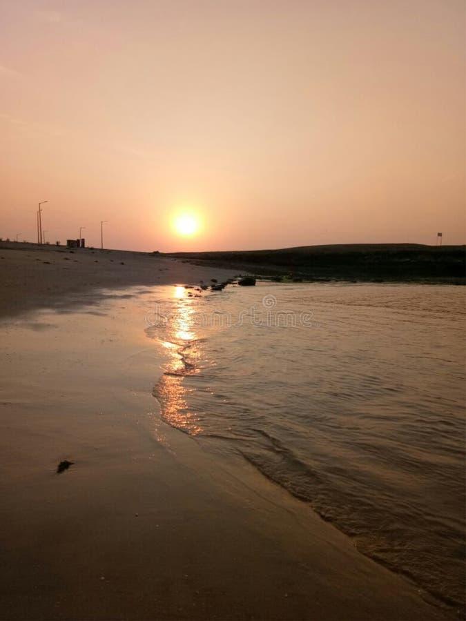 Bello beache del goa India fotografie stock