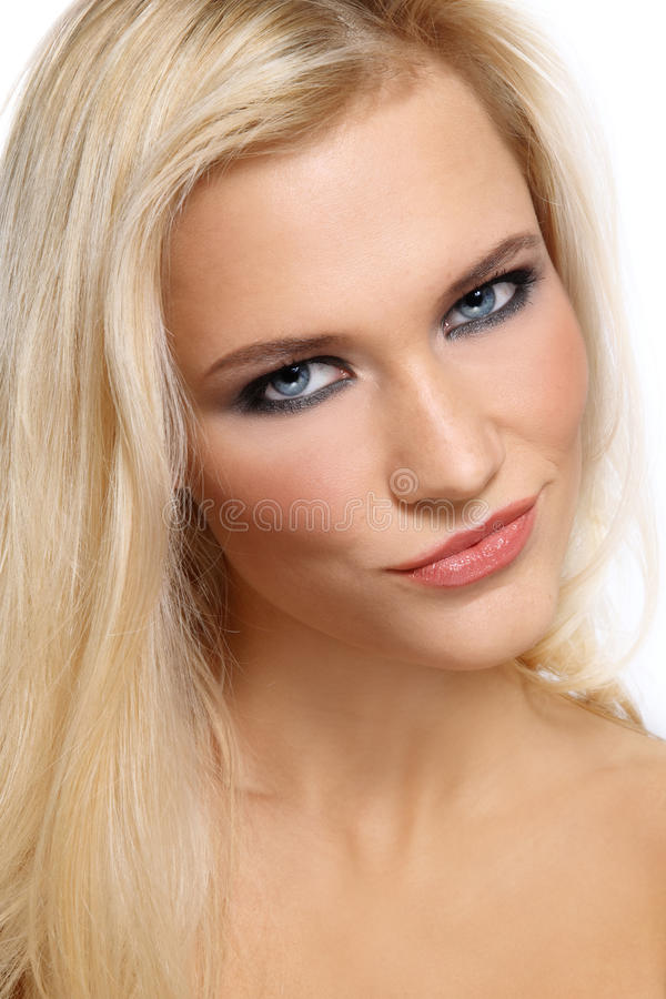 Bello blonde fotografia stock