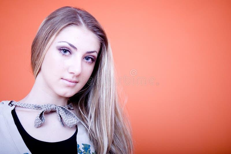 Bello blonde fotografia stock