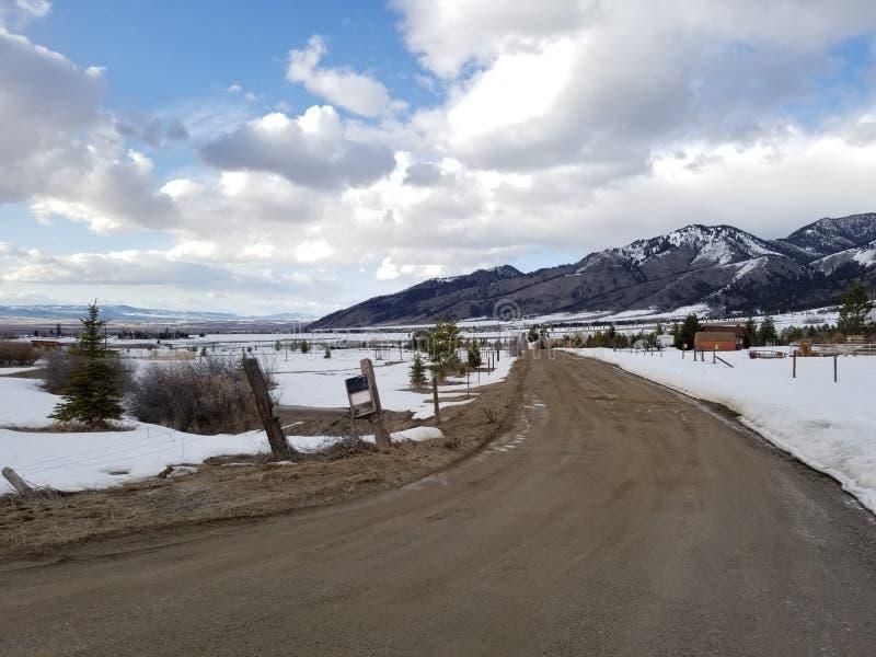 Bello Bozeman Montana fotografia stock libera da diritti