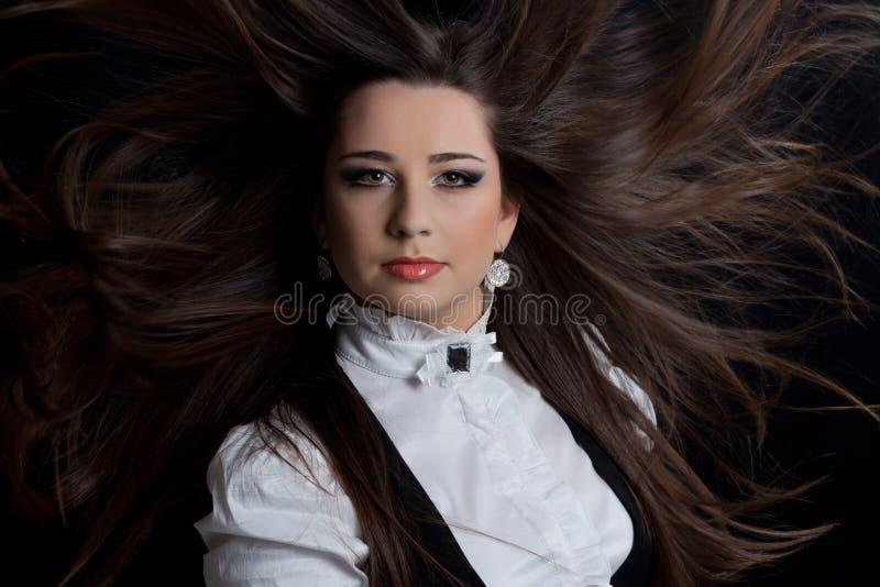 Bello brunette immagine stock libera da diritti