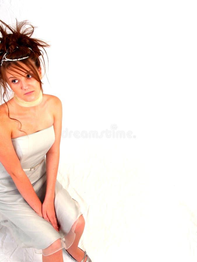 Bello Brunette teenager fotografia stock libera da diritti