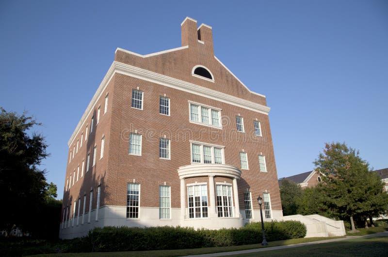 Bello campus universitario metodista del sud fotografia stock libera da diritti