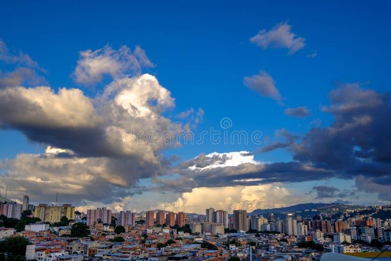 Bello Caracas su Sunny Afternoon immagine stock libera da diritti