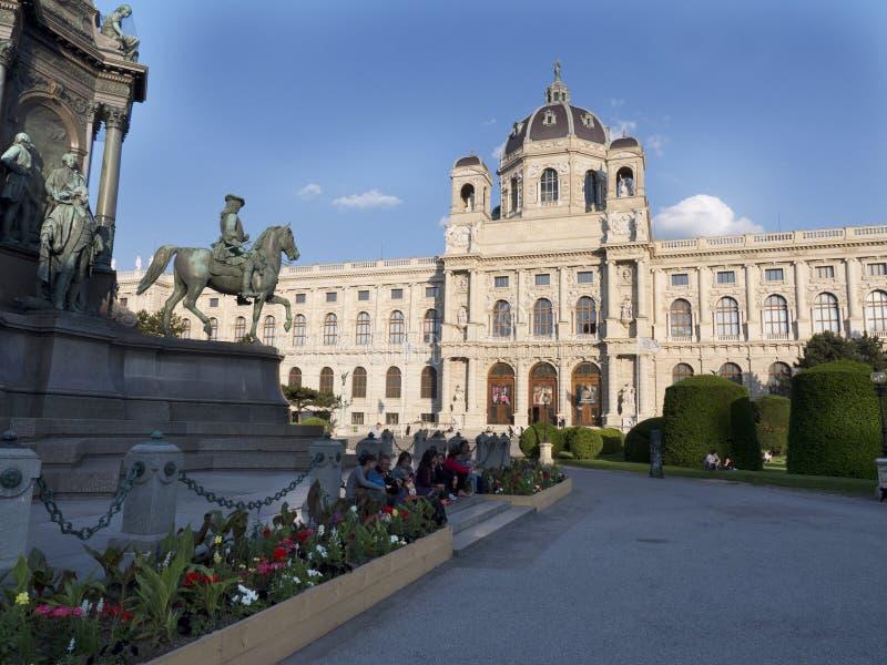 Bello castello a Vienna Austria fotografie stock