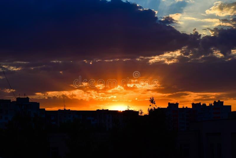 Bello cielo fotografia stock