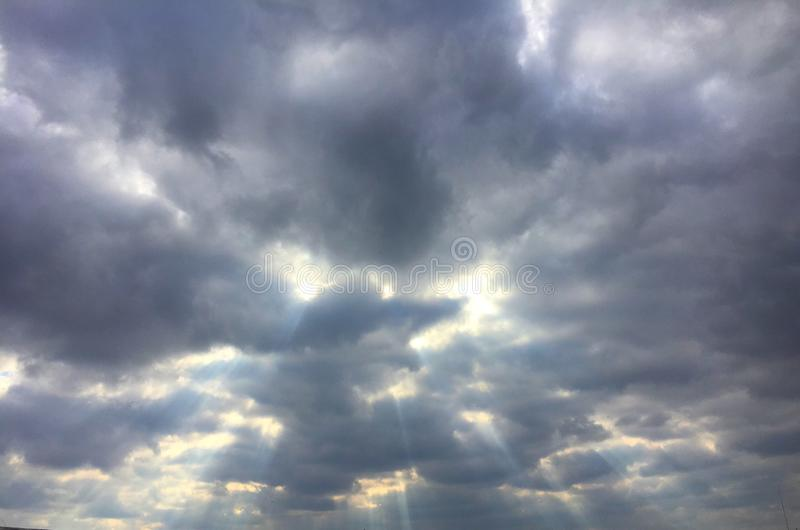 Bello cielo immagine stock libera da diritti