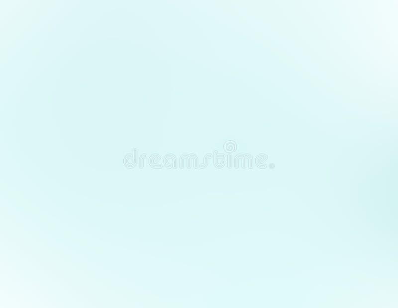 Bello cielo blu della radura di pendenza del fondo senza nuvole illustrazione vettoriale