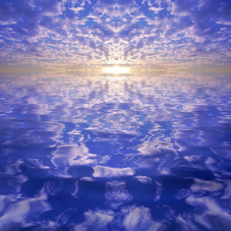 Bello cielo di tramonto immagini stock libere da diritti