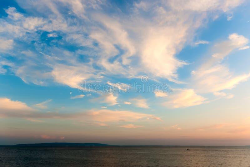 Bello cloudscape fotografie stock
