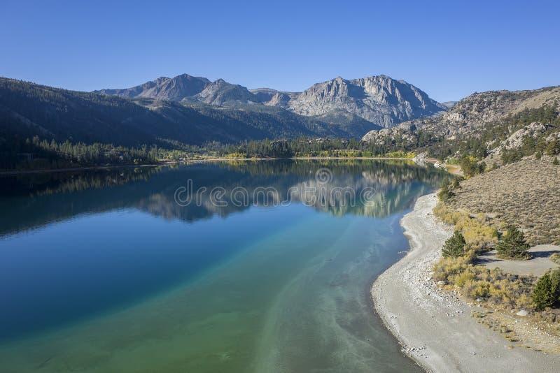 Bello colore di caduta in California fotografia stock libera da diritti