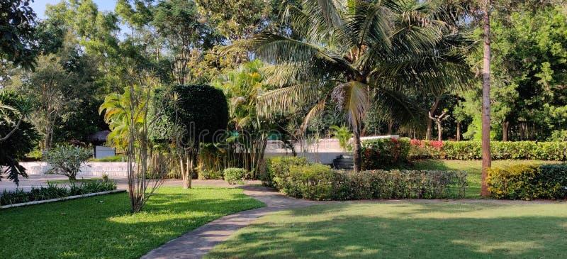 Bello complejo natural indio en Mysore India imagen de archivo