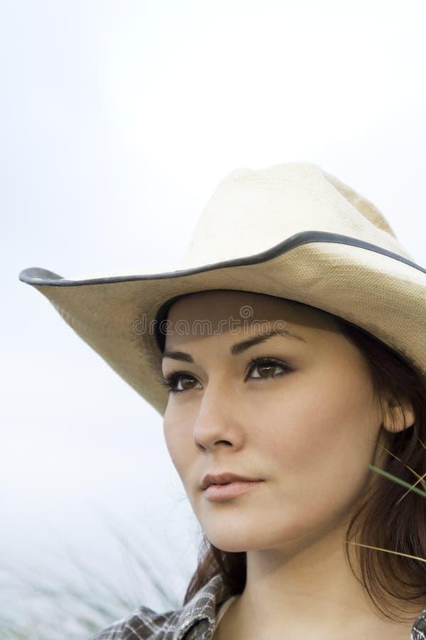 Bello cowgirl fotografia stock libera da diritti