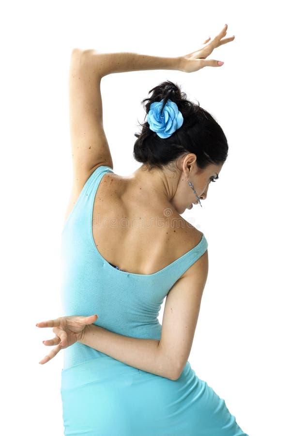 Bello danzatore spagnolo immagine stock libera da diritti