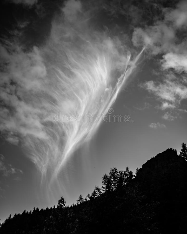 Bello dettaglio della nuvola fotografie stock libere da diritti