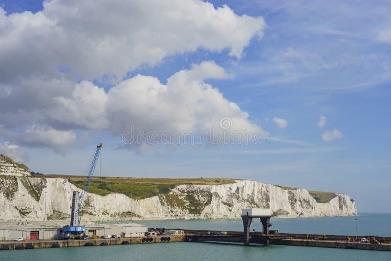 Bello Dover Port immagini stock libere da diritti