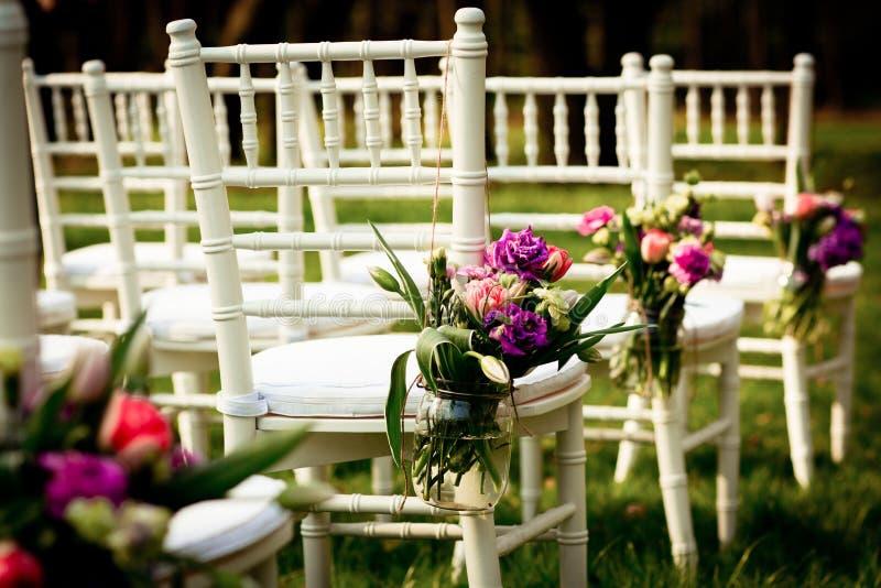 Bello fiore di nozze fotografia stock
