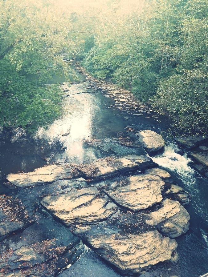 Bello fiume immagini stock