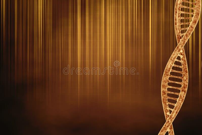 Bello fondo dell'oro illustrazione vettoriale