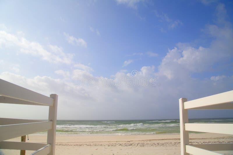 Bello fondo della spiaggia fotografie stock