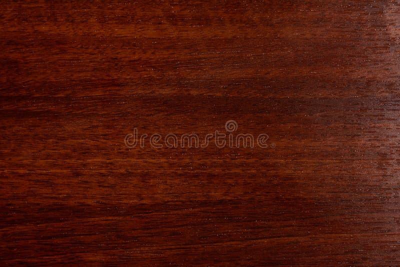 Bello fondo di legno marrone su compensato strutturato laccato fotografia stock libera da diritti