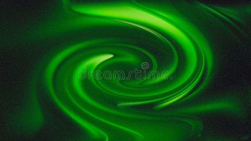 Bello fondo elegante di progettazione di arte grafica dell'illustrazione dell'acqua del fondo verde di vortice royalty illustrazione gratis