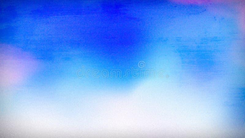 Bello fondo elegante di progettazione di arte grafica dell'illustrazione del cielo blu del cobalto illustrazione di stock