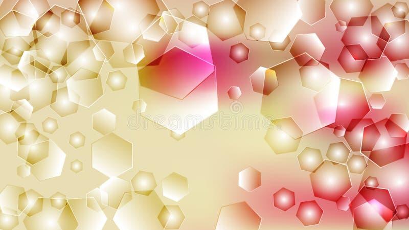 Bello fondo elegante di progettazione di arte grafica dell'illustrazione del modello del fondo rosa di progettazione illustrazione di stock