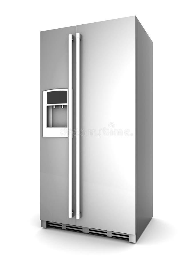 Bello frigorifero illustrazione vettoriale