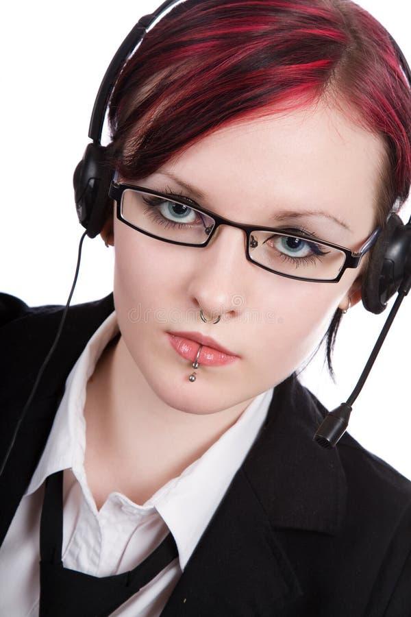 Bello gestore di ufficio immagini stock