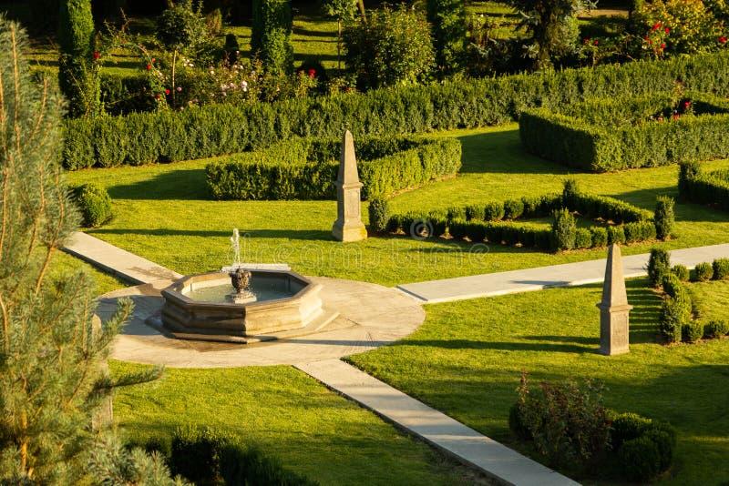 Bello giardino verde fotografie stock libere da diritti