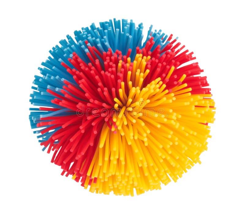 Bello giocattolo di gomma immagine stock