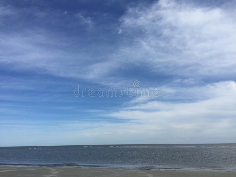 Bello giorno della spiaggia immagini stock libere da diritti