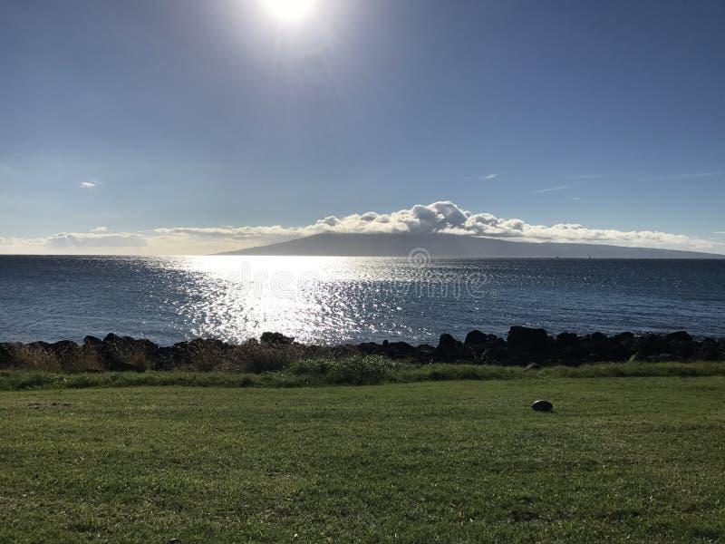 Bello giorno soleggiato nei periodi hawaiani immagine stock