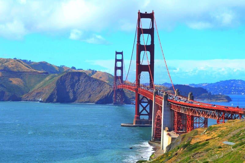 Bello golden gate bridge fotografia stock libera da diritti
