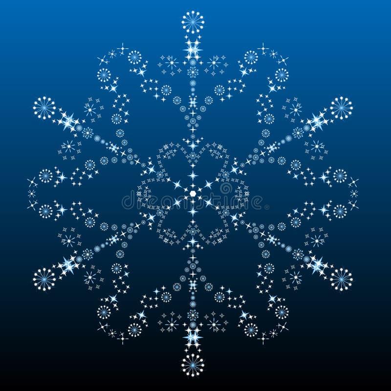 Download Bello Grande Fiocco Di Neve Illustrazione Vettoriale - Illustrazione di wallpaper, festa: 7314130