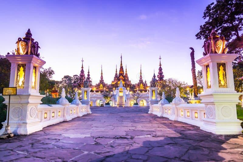 Bello hotel di Chiang Mai Thailand fotografia stock