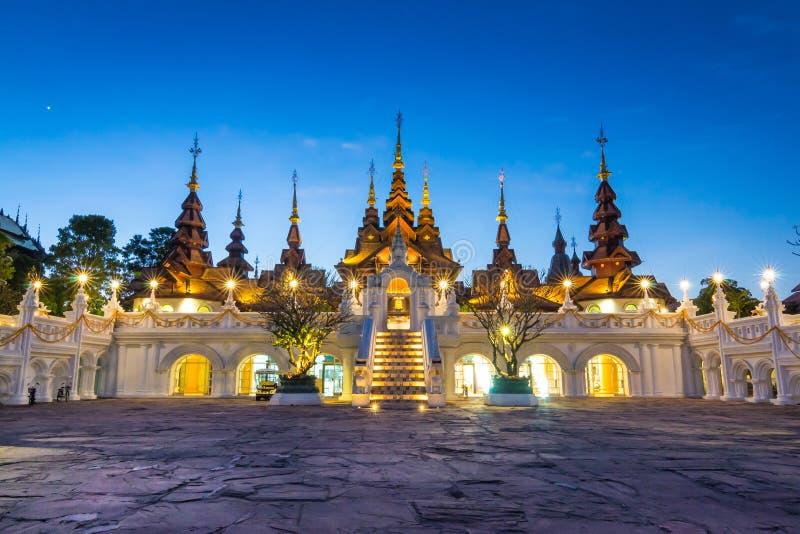 Bello hotel di Chiang Mai Thailand fotografie stock