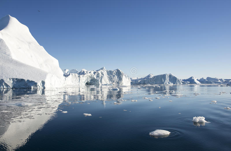 Bello iceberg immagini stock