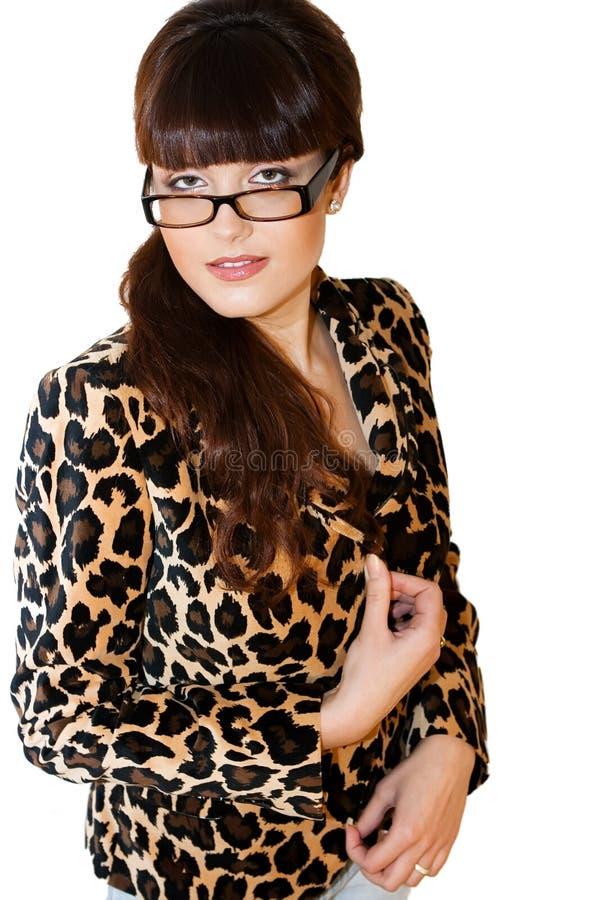Download Bello insegnante immagine stock. Immagine di donna, profilo - 7303781