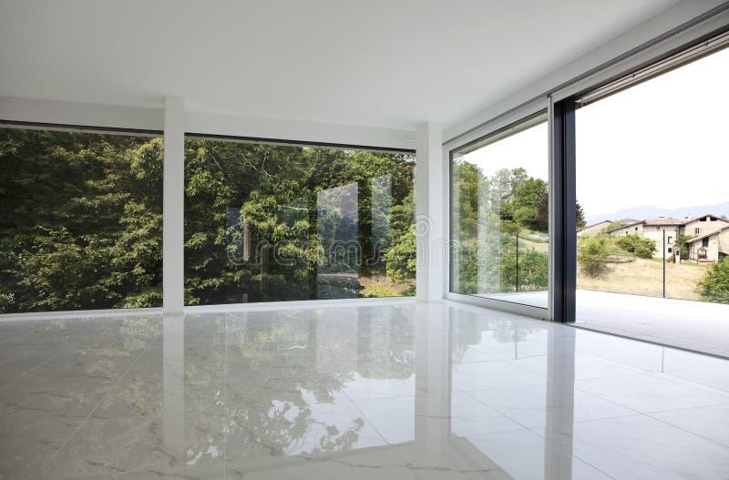 Bello interiore di una casa moderna fotografie stock libere da diritti