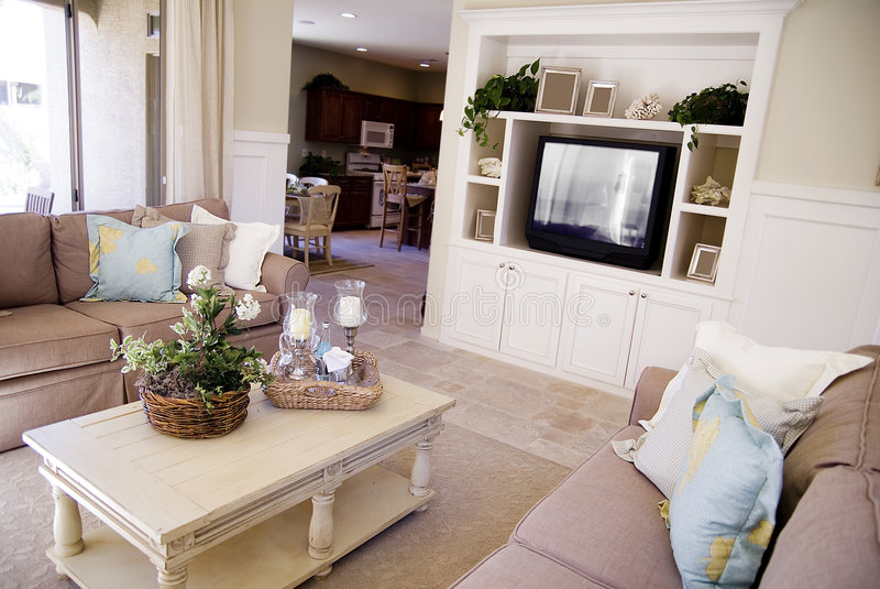 Bello interiore domestico fotografie stock