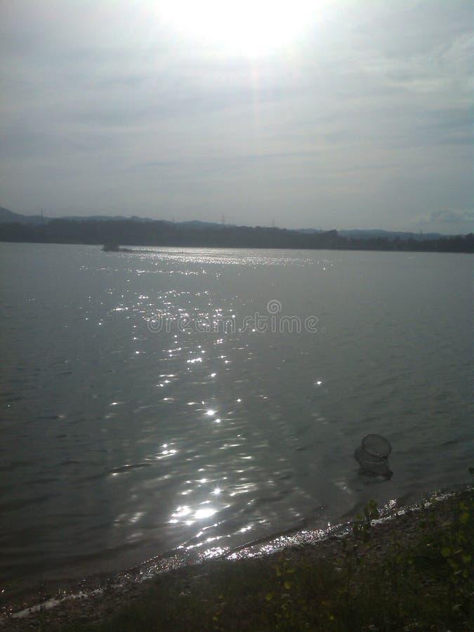 Bello lago fotografia stock
