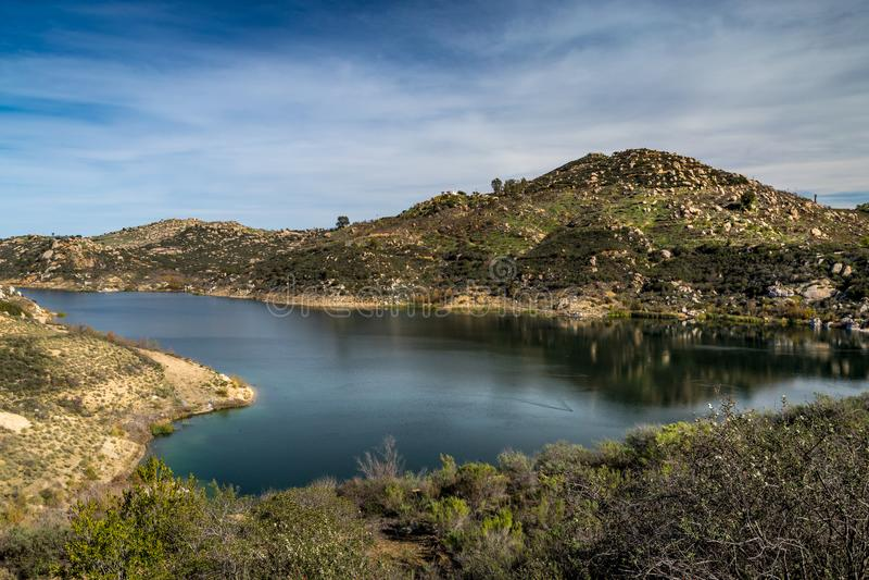 Bello lago Ramona immagine stock
